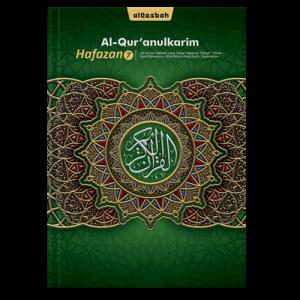 AlQuran Hafazan 7 Hijau A5