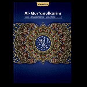 AlQuran Hafazan Perkata Biru A4