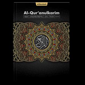 AlQuran Hafazan Perkata Hitam A4