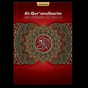 AlQuran Hafazan Perkata Merah A4